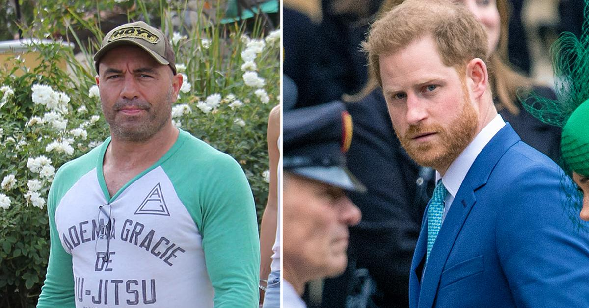 prince harry tells joe rogan to stay out of it after comedians controversial vaccine comments