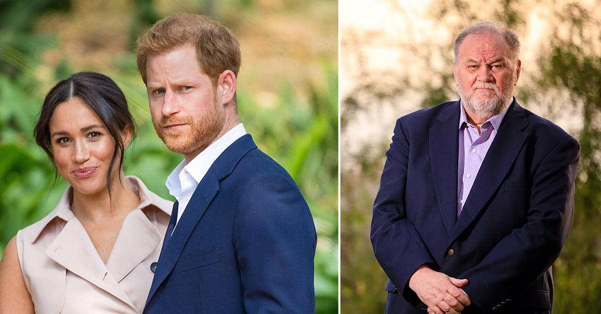 thomas markle says prince harry meghan markle have no compassion for me