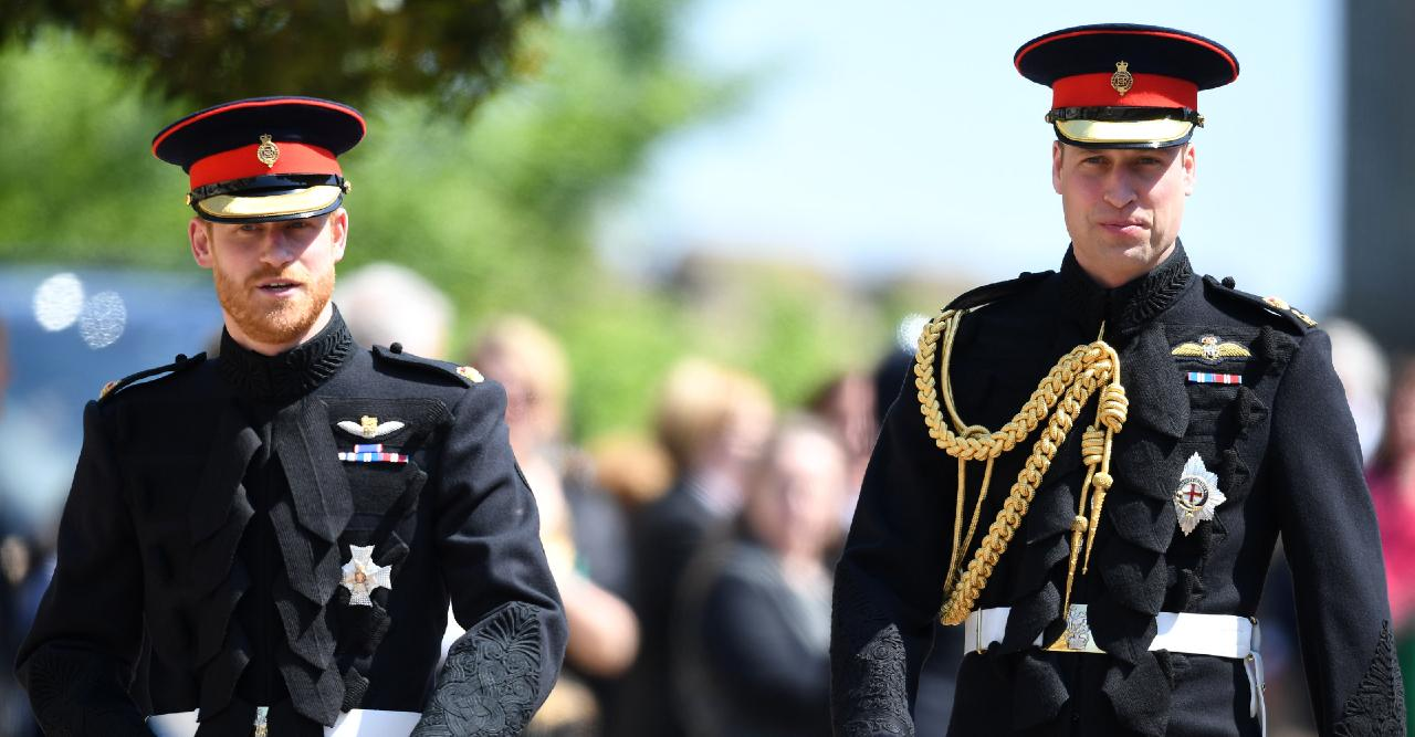 royal family hopes funeral will spur prince william prince harry to put past behind them