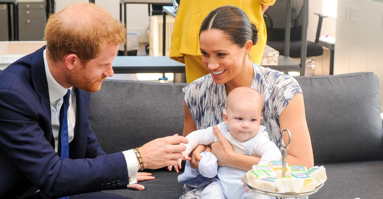 archie loves being a big brother bonding with baby lilibet shares insider