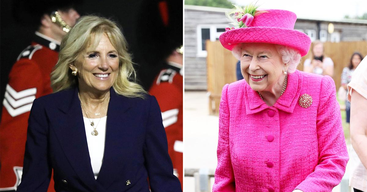 did jill biden ask kate middleton for advice upcoming meeting with queen elizabeth