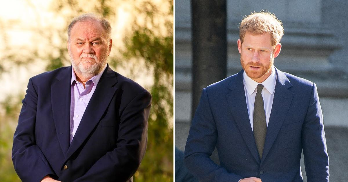 thomas markle says prince harry contracts himself urges royal to stop giving away all secrets