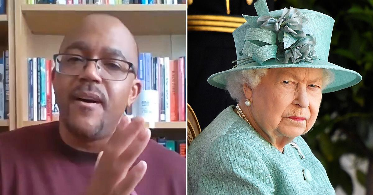 professor andrews says queen elizabeth number one symbol white supremacy