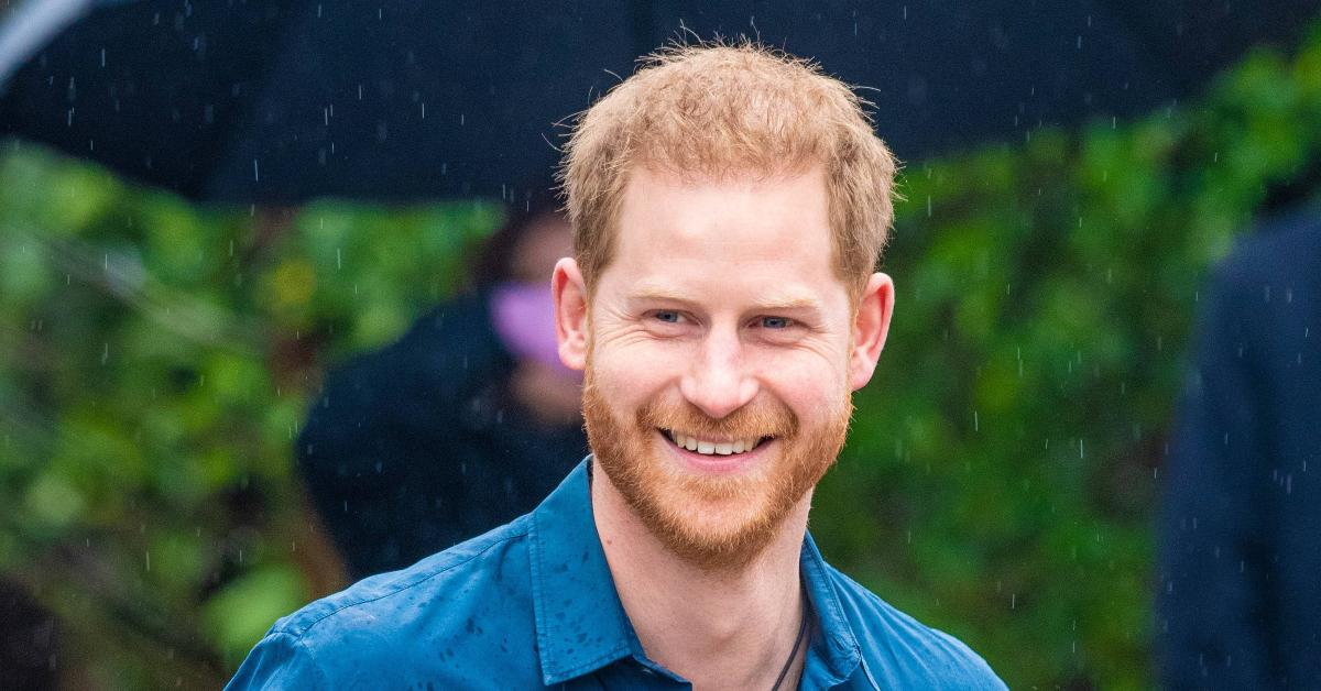 prince harry competition