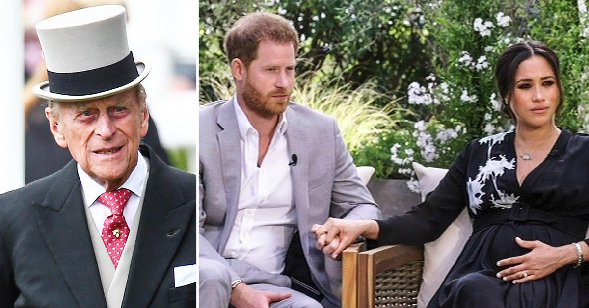 prince philip believed meghan and harry tell all interview was madness trof