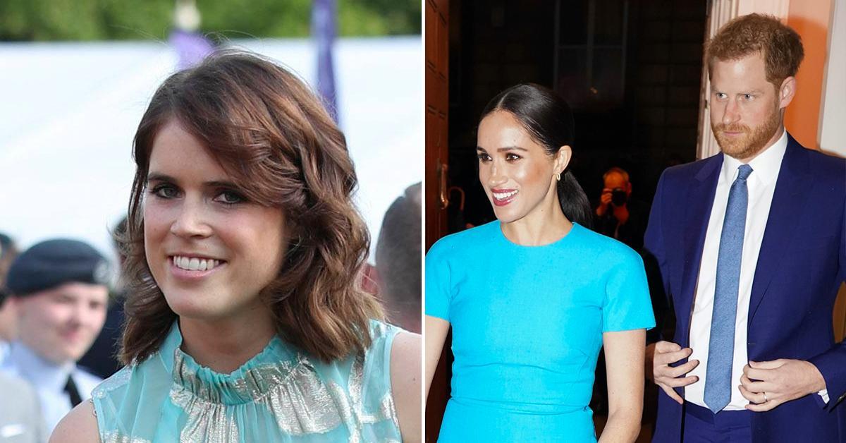 did prince harry meghan markle congratulate princess eugenie on baby tro