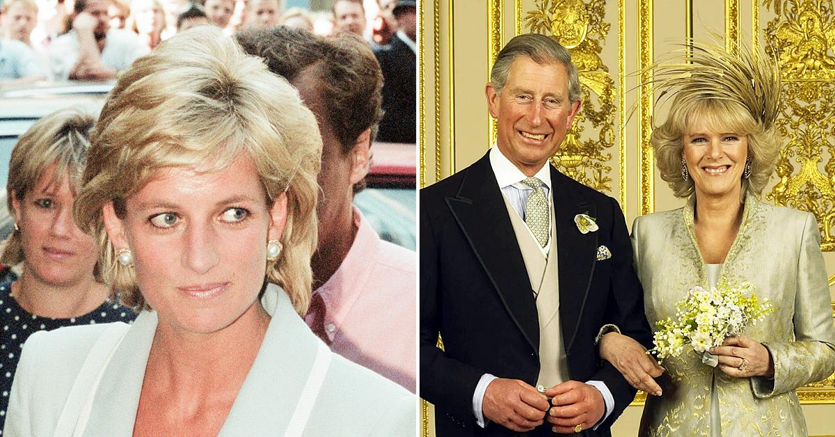 princess diana uneasy about camilla attending her wedding to prince charles