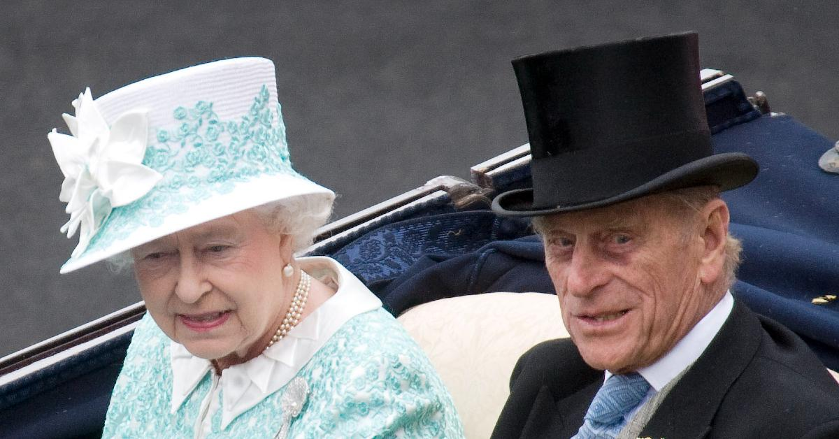 queen philip spend day privately
