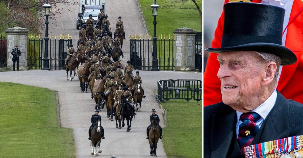 prince philip rehearsals funeral duke of edinburg tro