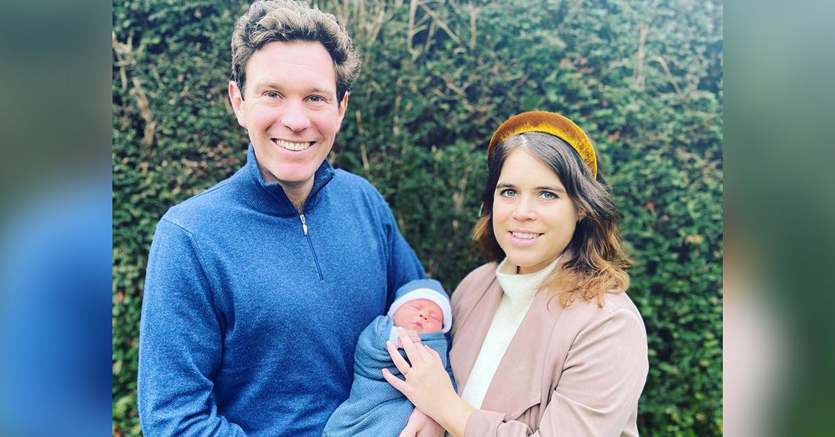 princess eugenie shares cute video son august world oceans day tro