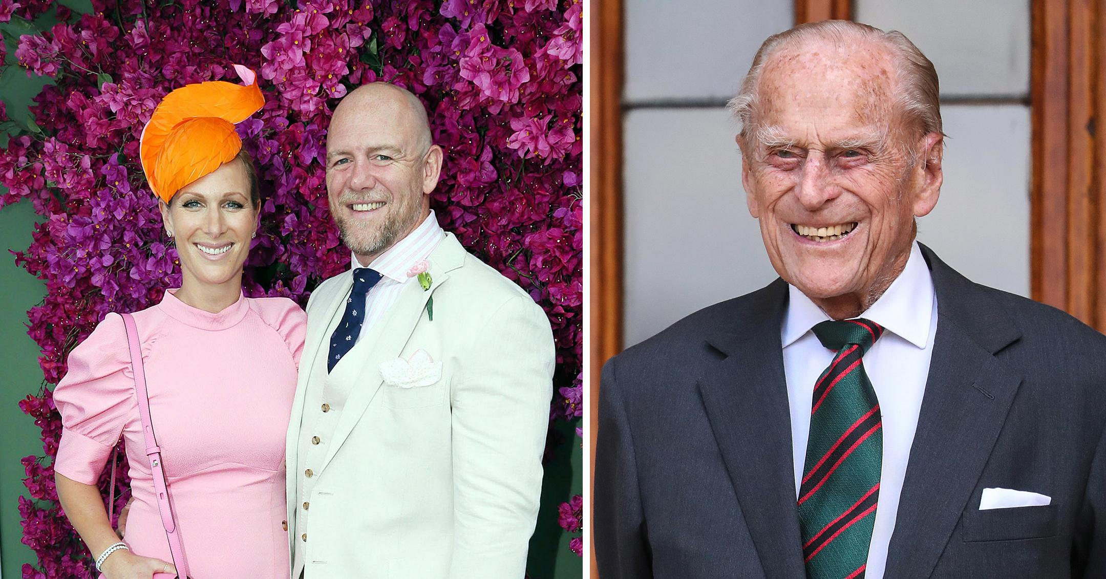 zara mike tindall newborn son lucas middle name pays tribute grandfather prince philip