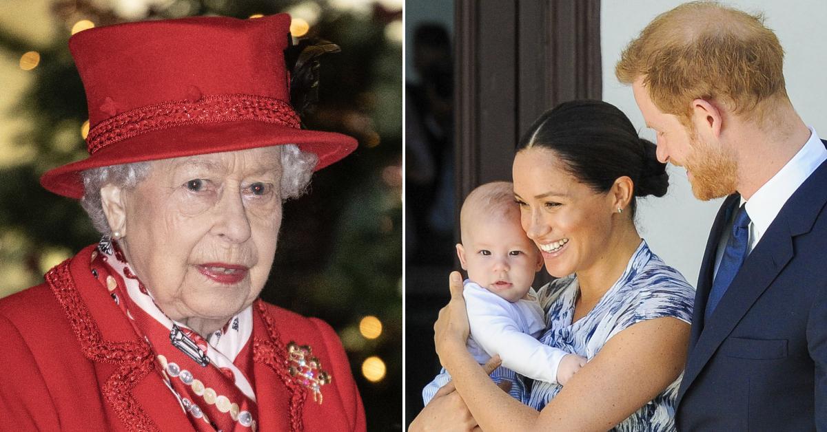 queen elizabeth archie birthday wishes pp