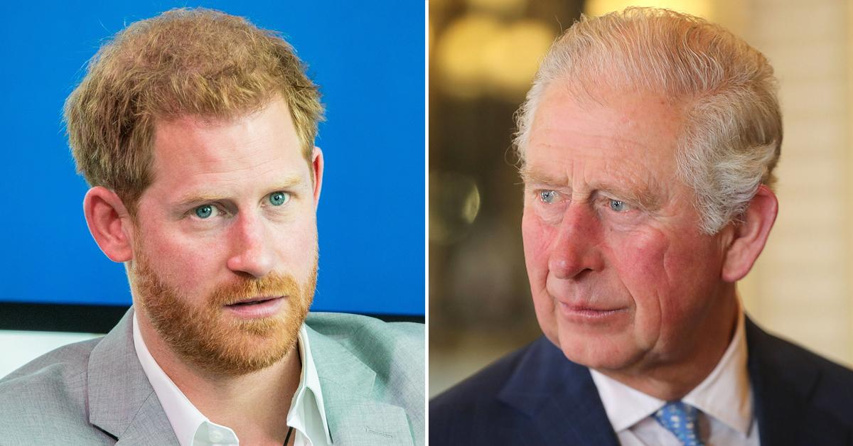prince harry reached out to father prince charles before prince philips funeral