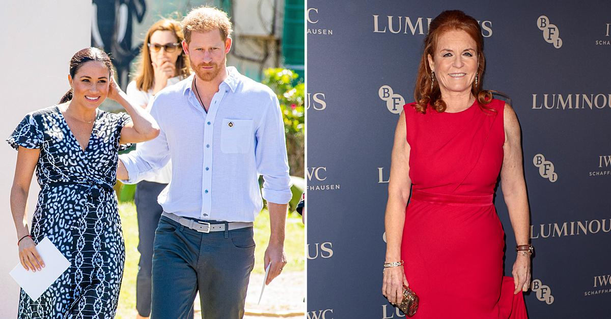 sarah ferguson wishes harry meghan so much happiness after leaving royal family