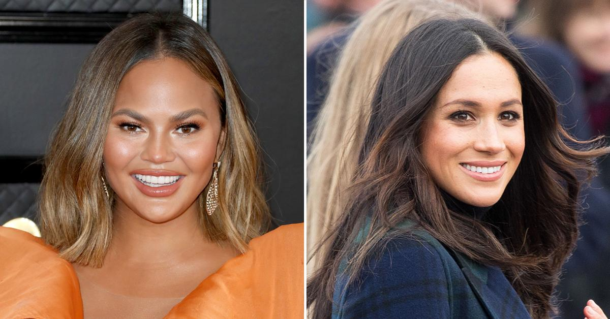 chrissy teigen reveals meghan markle reached out after pregnancy loss