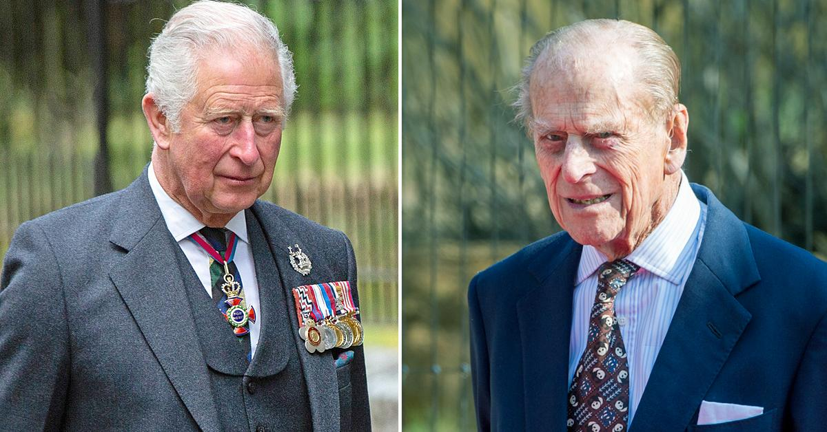 prince charles meets nhs workers looked after prince philip before death