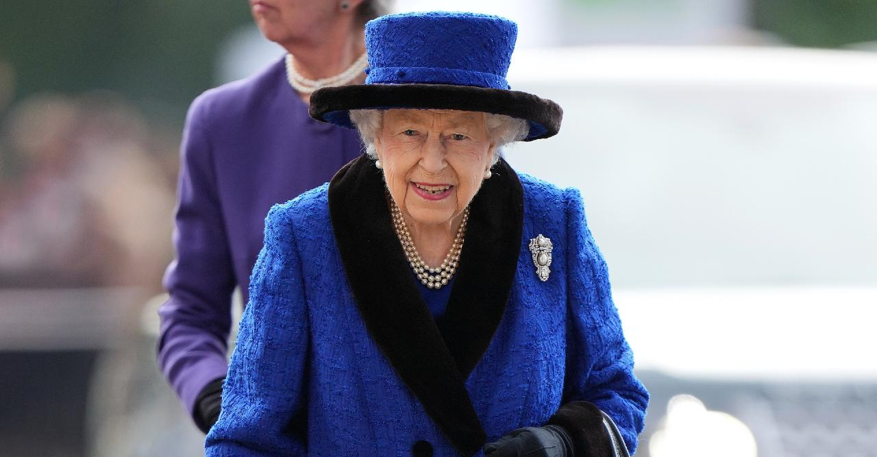 queen elizabeth in hospital yesterday preliminary investigations now in good spirits