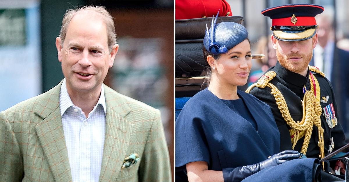 prince edward says meghan markle prince harry feud royal family difficult for everyone