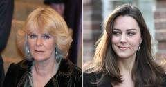 duchess camila parker bowles not keen kate middleton tro