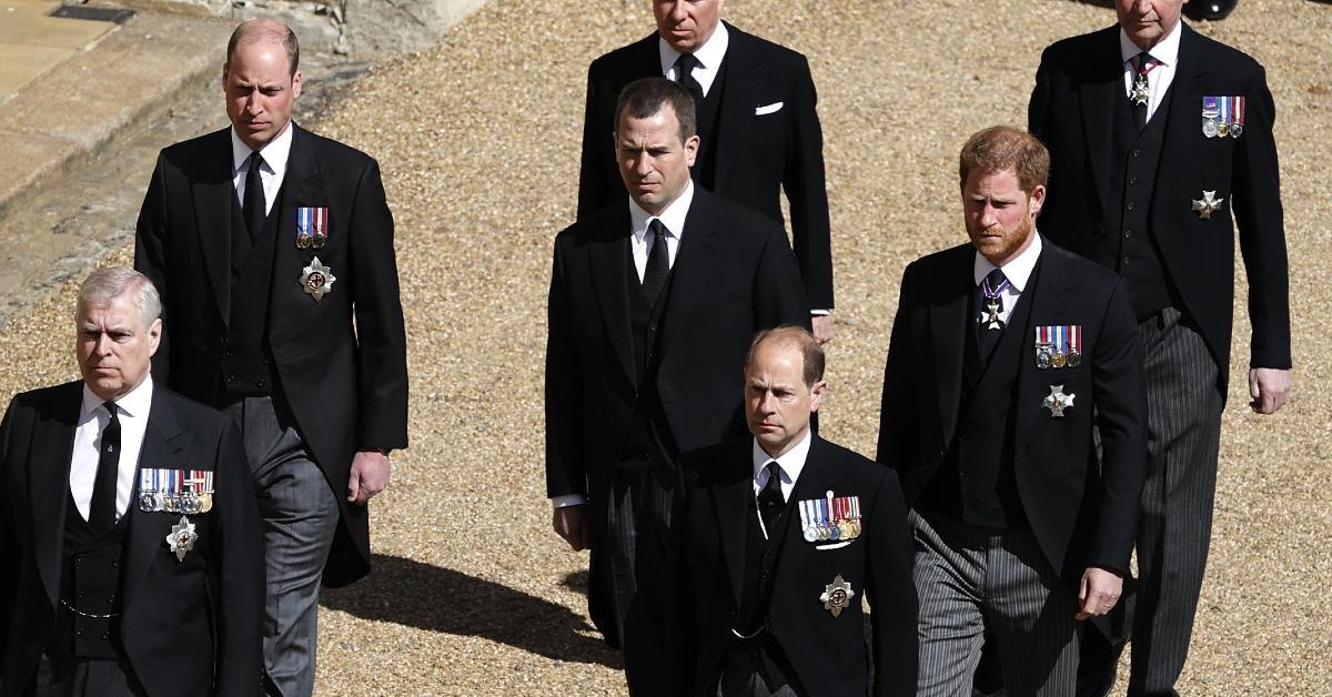 peter phillips queen funeral