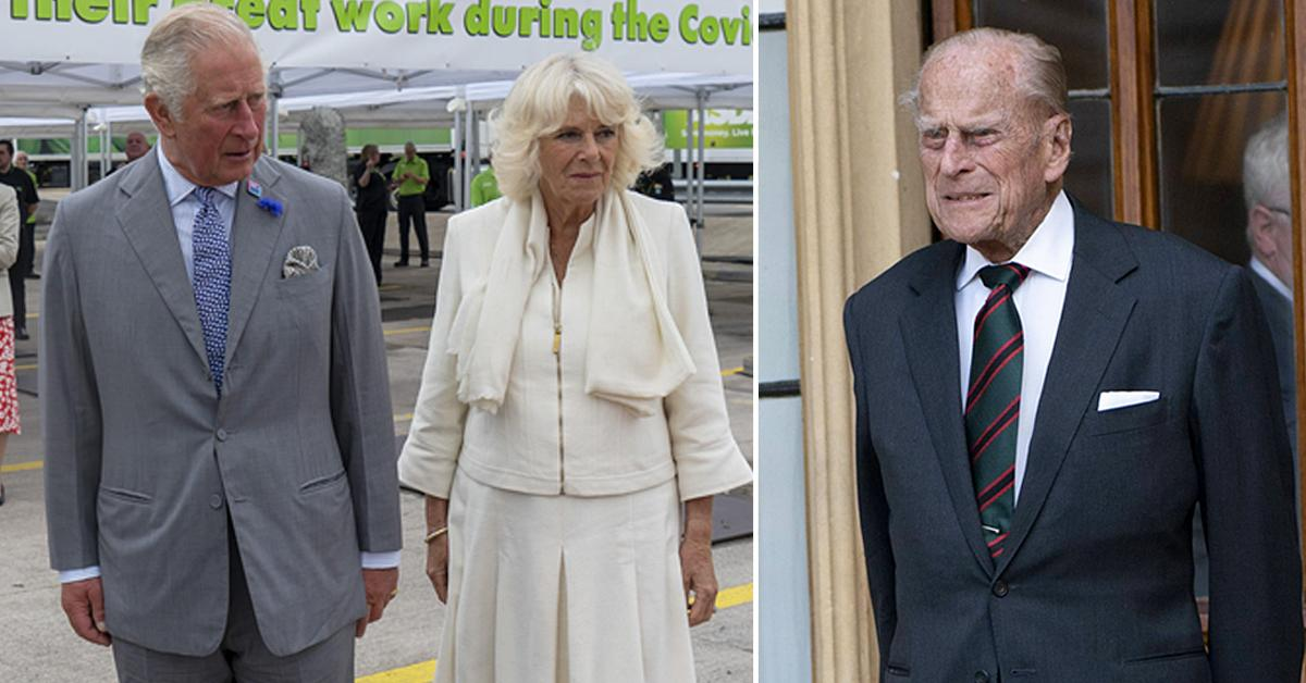prince philip died on prince charles camilas th wedding anniversary