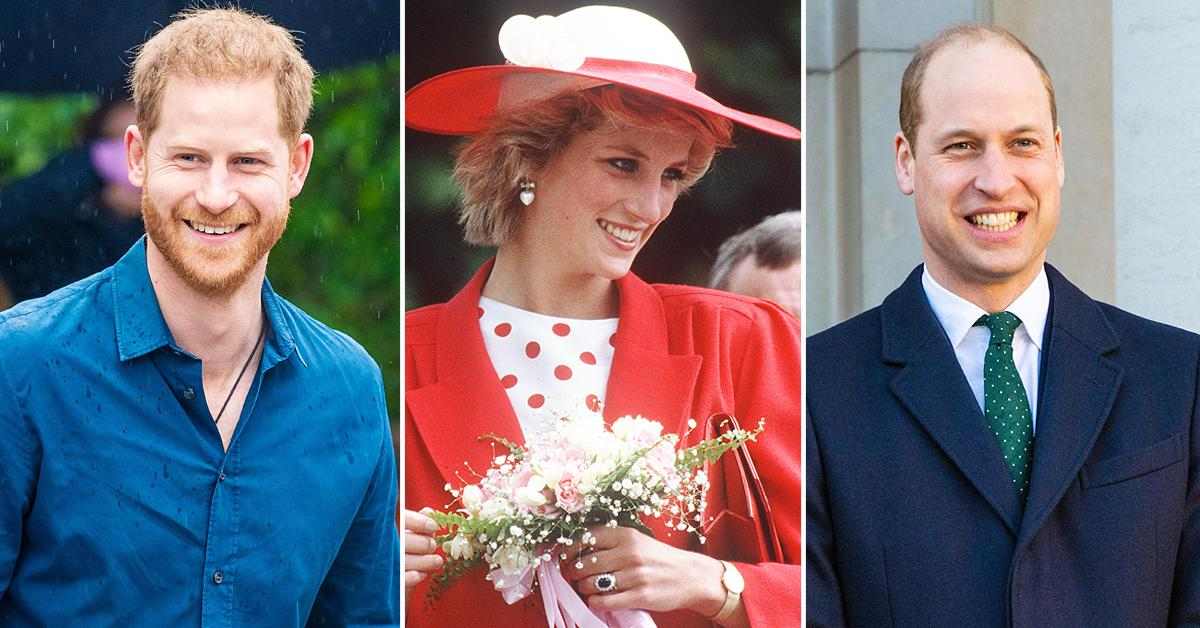 selfless prince harry gave princess diana sapphire engagement ring prince william tro