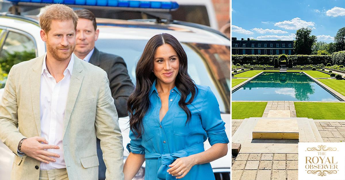 meghan markle wants to come princess diana statue unveiling tro