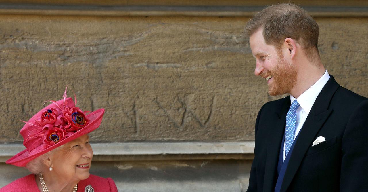 prince harry returns to california misses queen elizabeths birthday