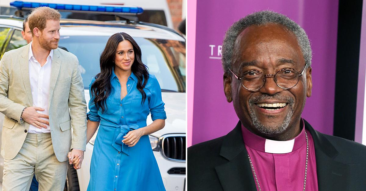 bishop michael curry reacts meghan markle prince harry interview