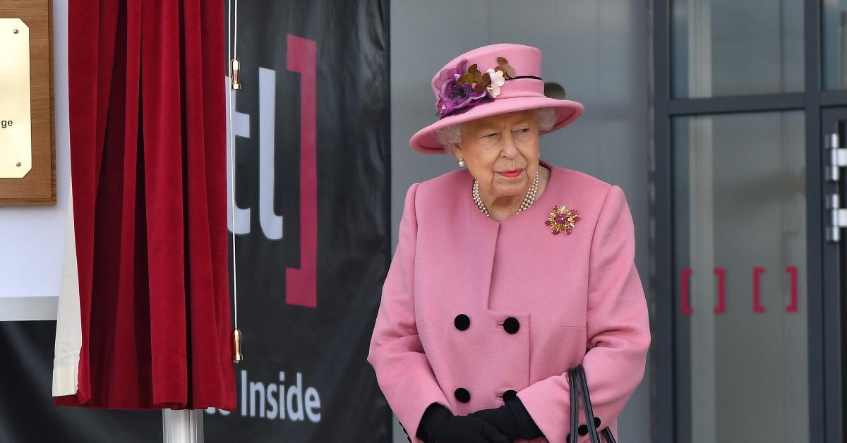 queen elizabeth cop