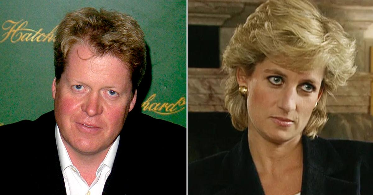 charles spencer fine for princess diana give interview tricked into panorama sit down