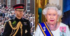 queen elizabeth ii prince harry no military titles tro
