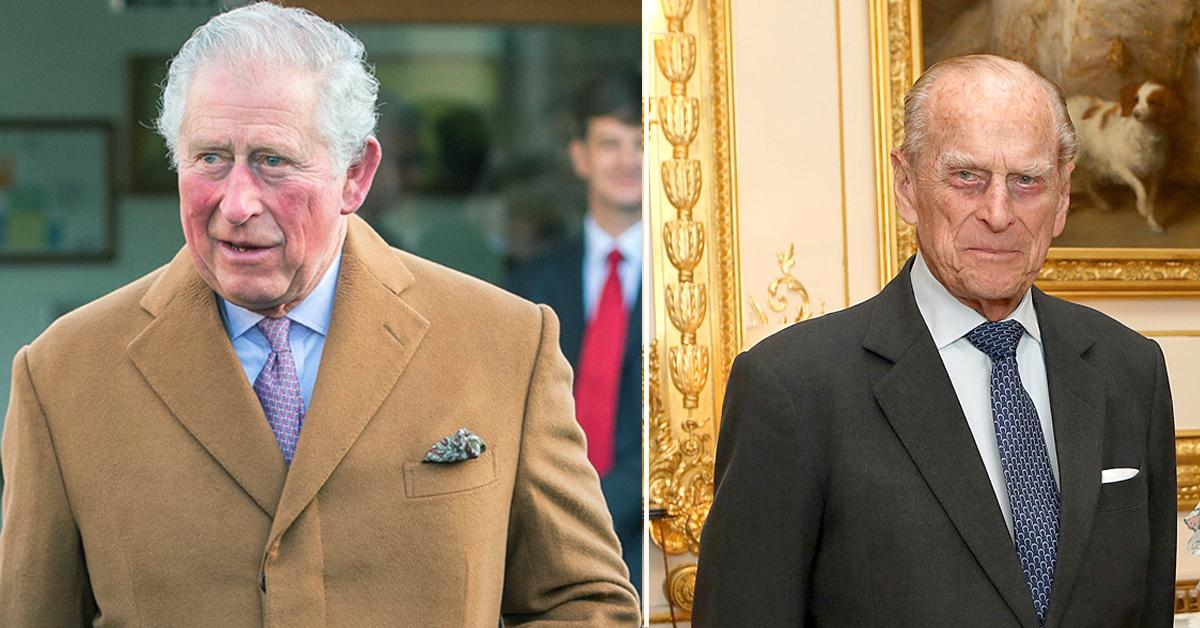 prince charles family empty seat dinner table prince philip death