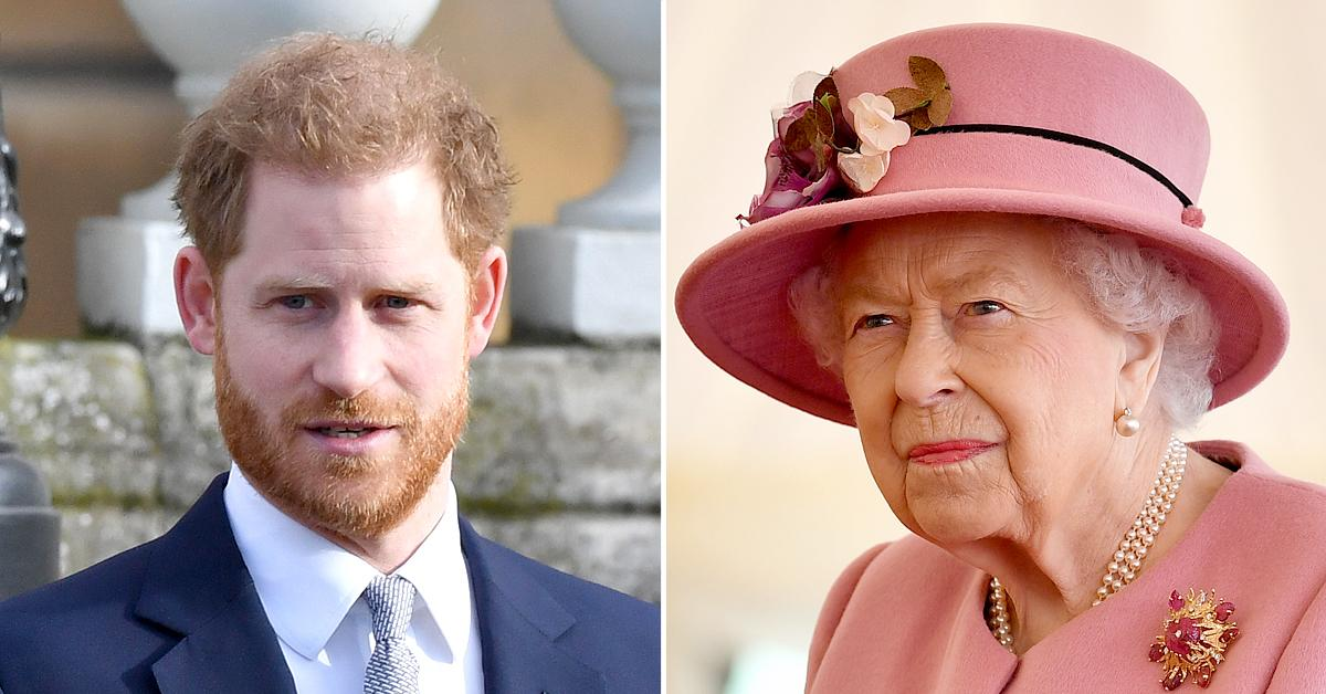 prince harry criticized flying back to california ahead queen elizabeth th birthday