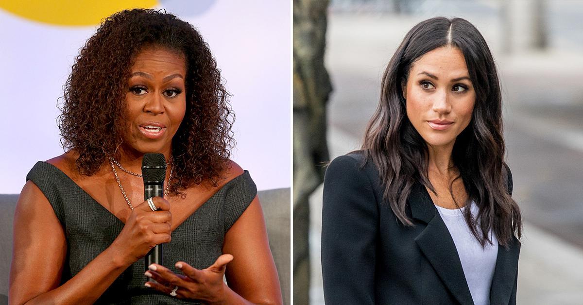 michelle obama says wasnt complete surprise meghan markle talk alleged racism