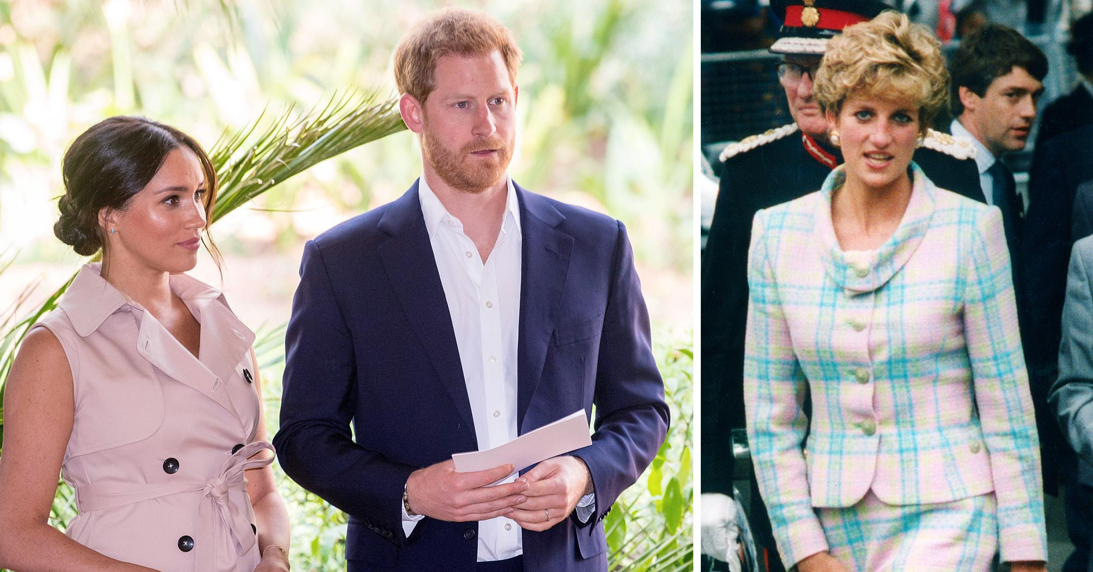 princess diana would have thought prince harry meghan markle tell all was too much