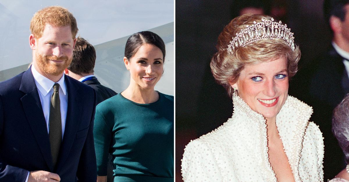 prince harry demanding wife meghan markle be part princess diana statue unveiling