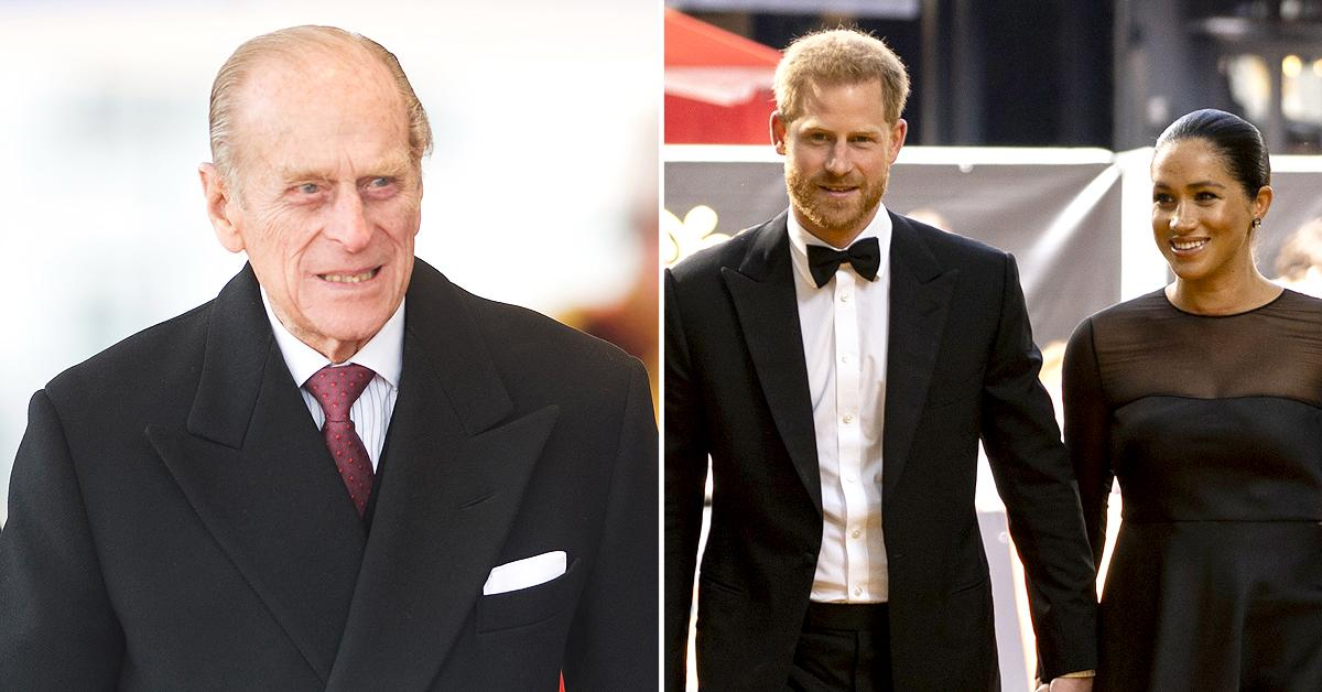 prince philip reportedly opted not take part discussions prince harry meghan leaving family
