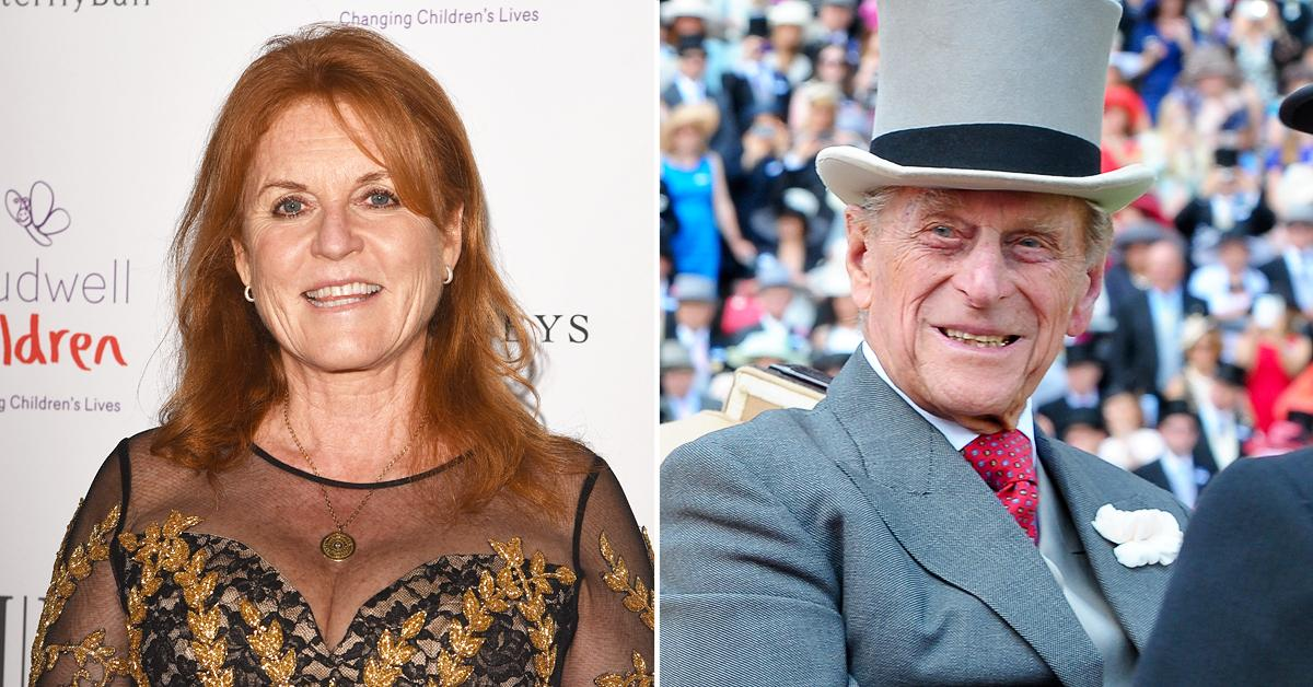 sarah ferguson not attend prince philip funeral