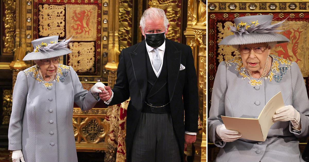 prince charles duchess camilla accompany queen elizabeth first royal engagement