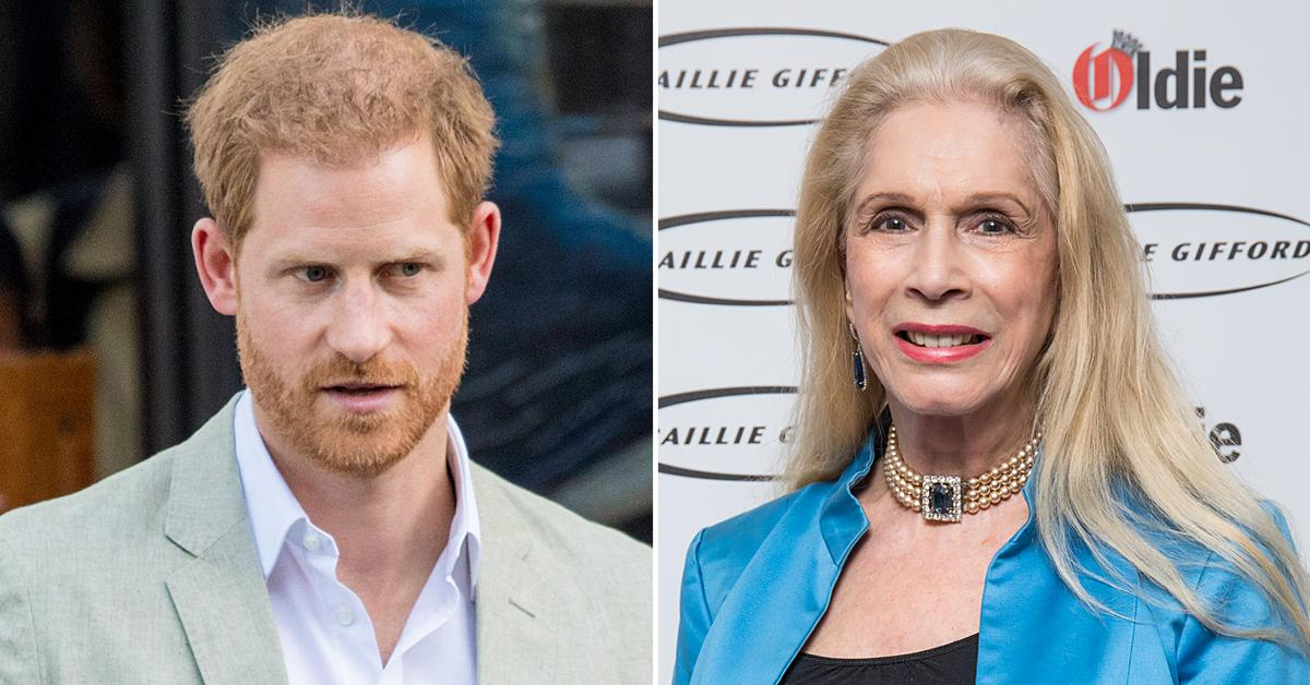 prince harry dumped members of his family totally unacceptable way lady colin campbell