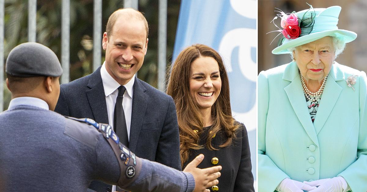 prince william kate middleton make first public appearance since prince philip funeral on queen elizabeth th birthday