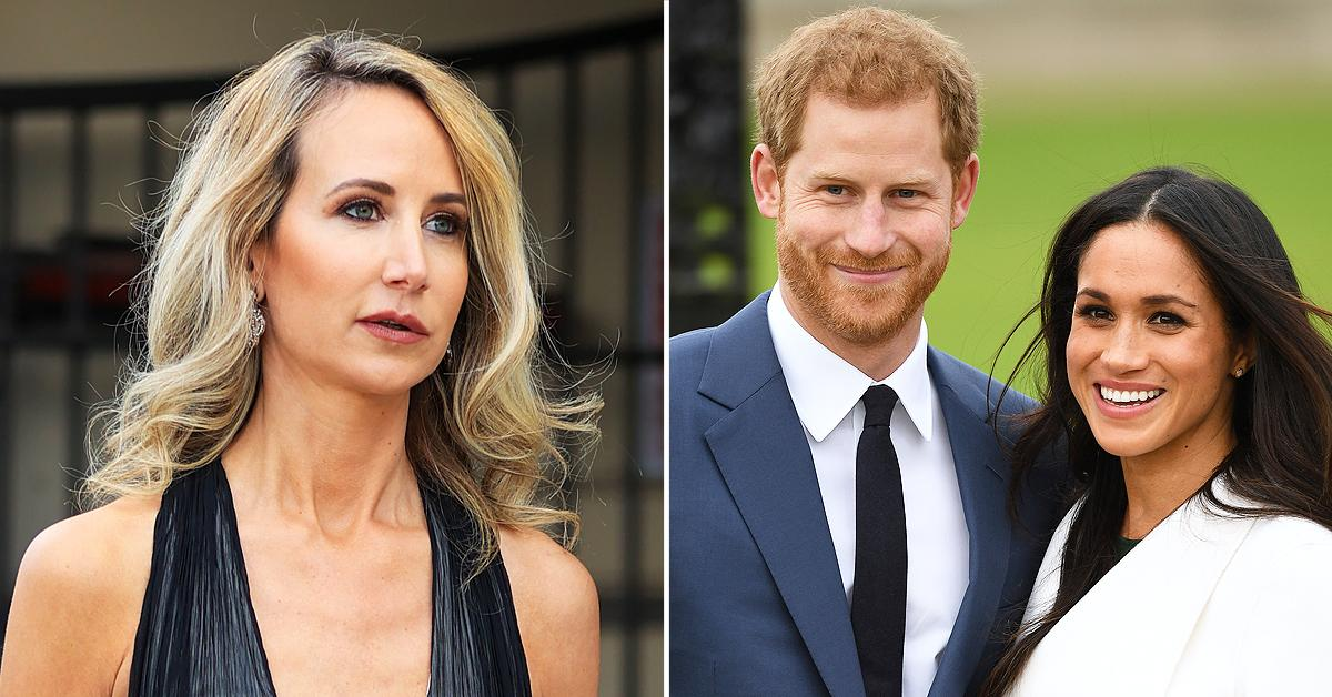 lady victoria hervey believes meghan markle prince harry courtship way too short