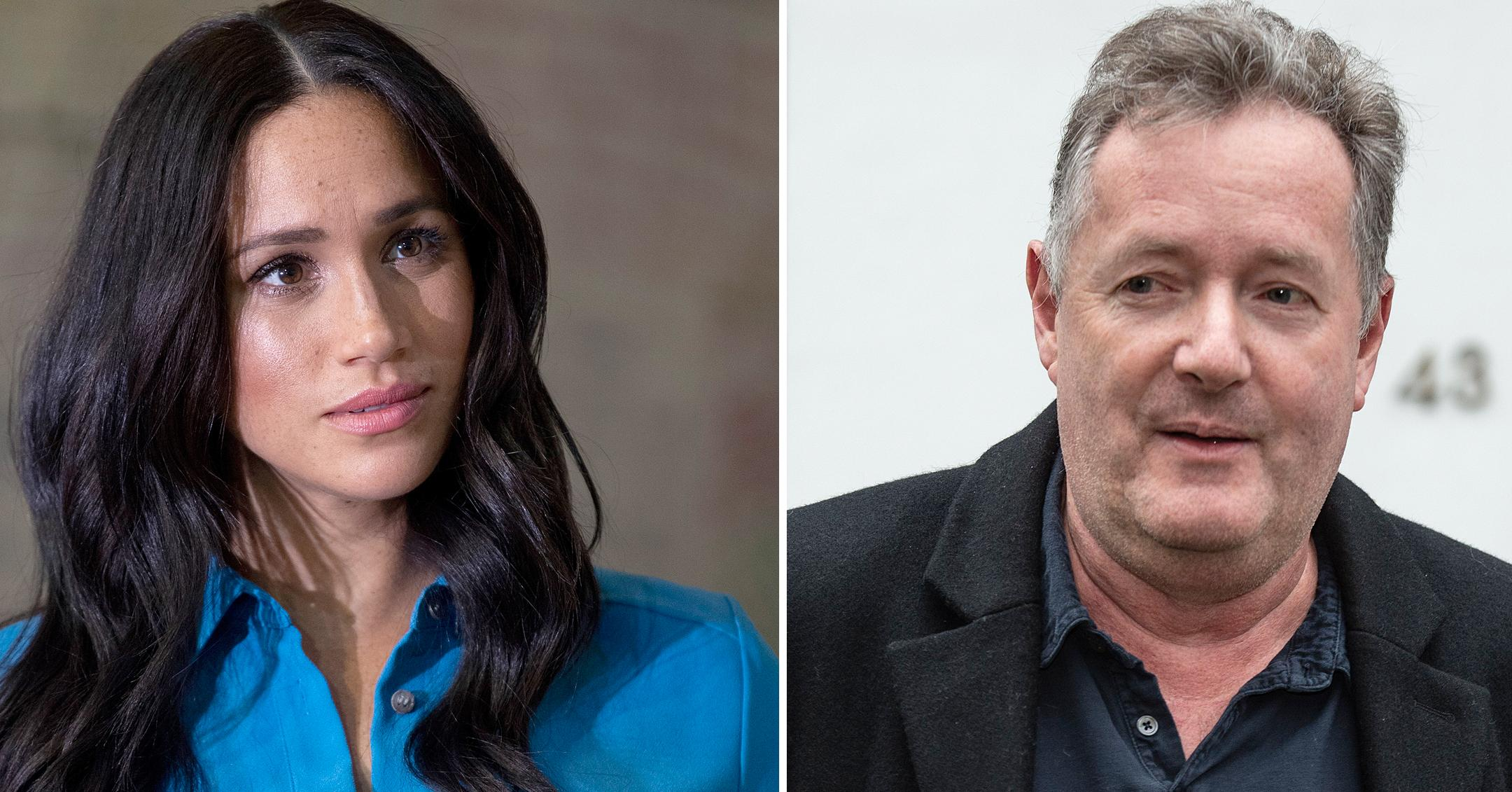 piers morgan continues to slam meghan markle
