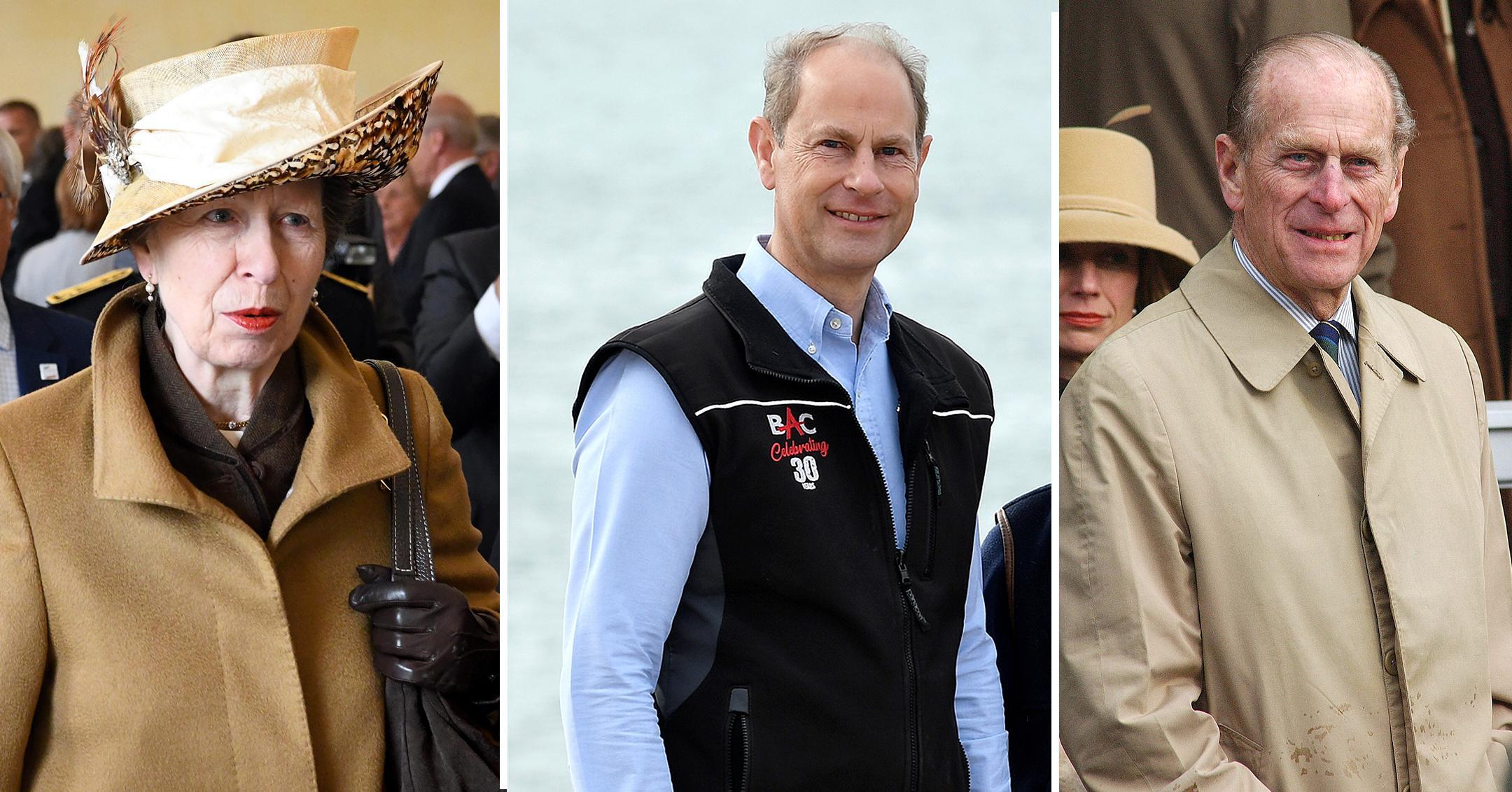 princess anne princess edward praise father prince philip death