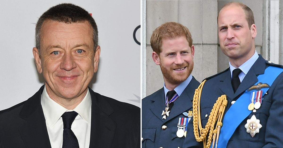 the crown creator peter morgan sense of duty prince william harry when making show
