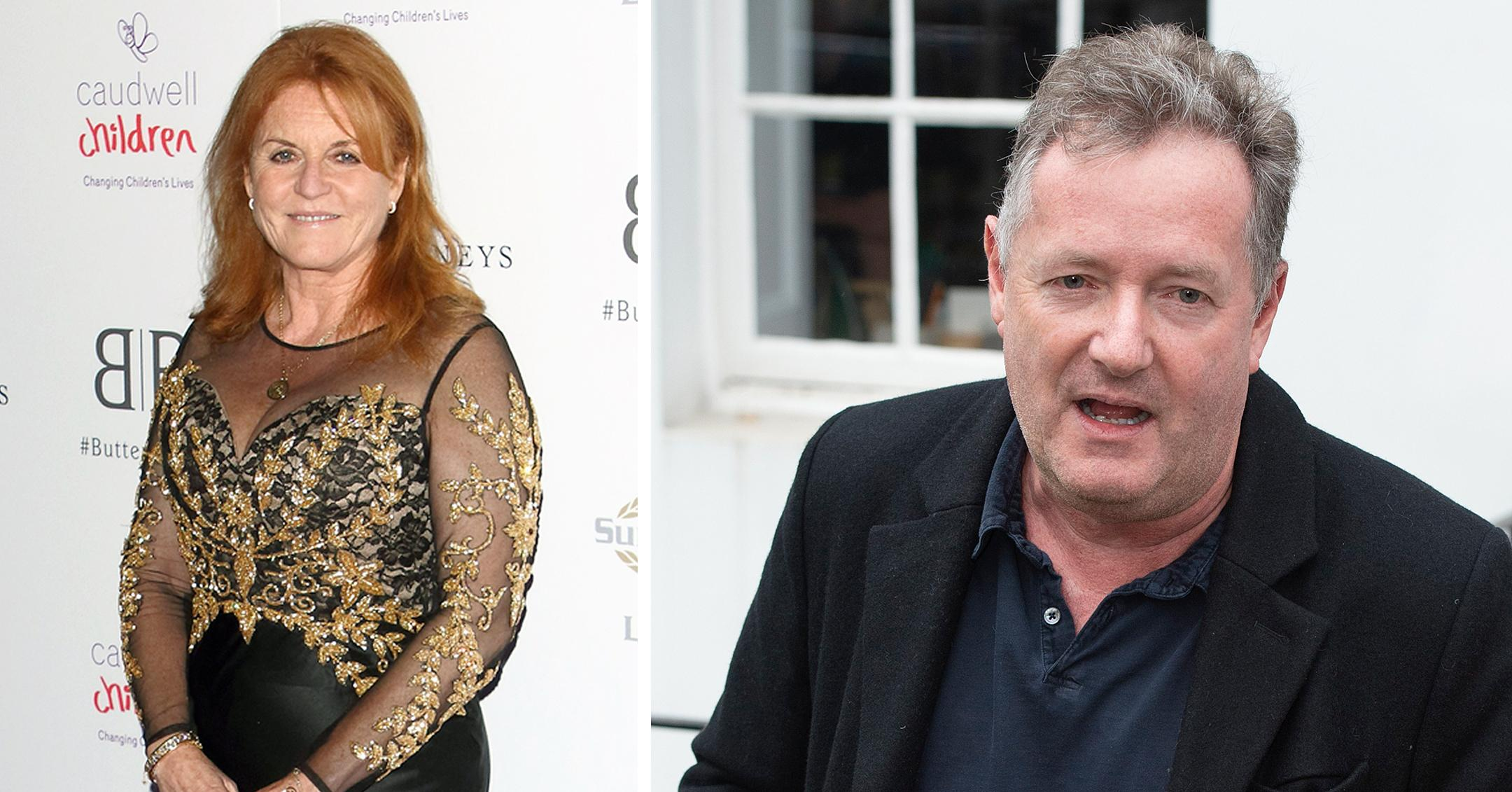 piers morgan claims sarah ferguson texted him after he quit good morning britain