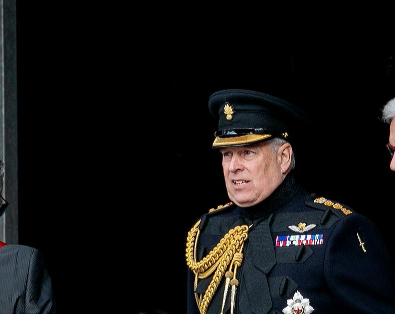 prince andrew served papers