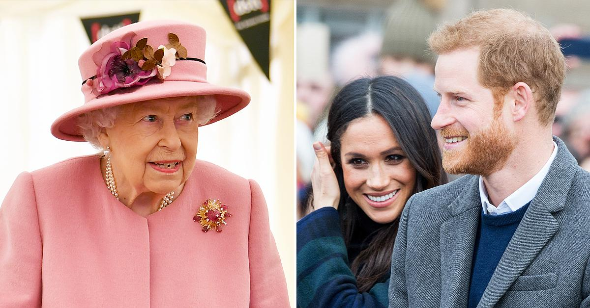 queen elizabeth supportive of lilibets name states prince harry meghan markles spokesperson