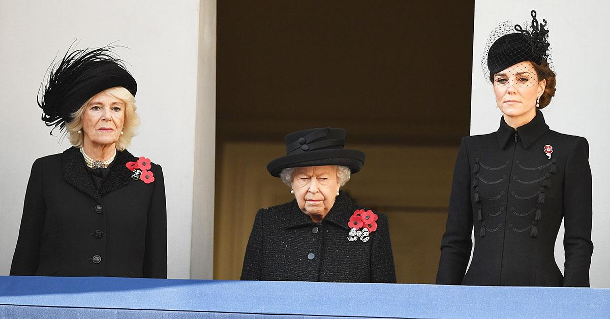 kate middleton camilla queen elizabeth attend special reception jubilee players tro